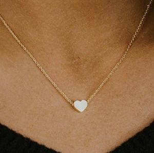 Jewelry - New Mother Daughter tiny Heart Necklace Set
